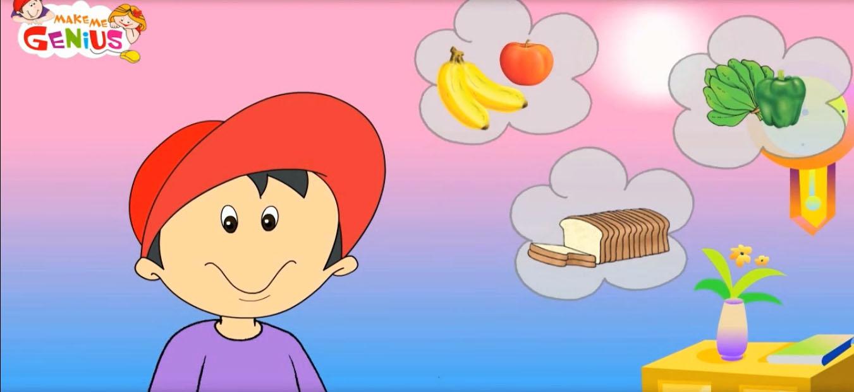 Make me a genious: Our Food (Hazme un genio: Nuestra comida
