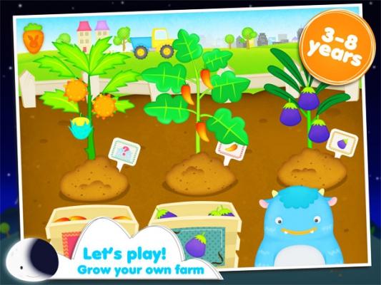 Aplicación niños Pequeño granjero