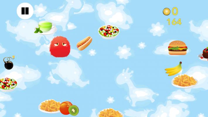 Healthy Food Monsters app