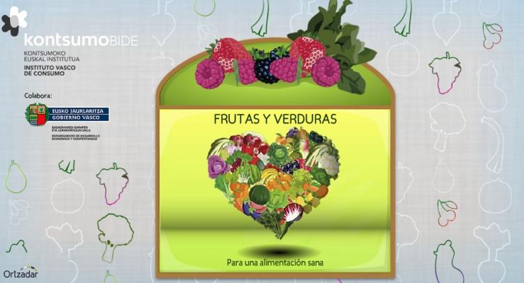 juego online alimentacion pirámide nutricion