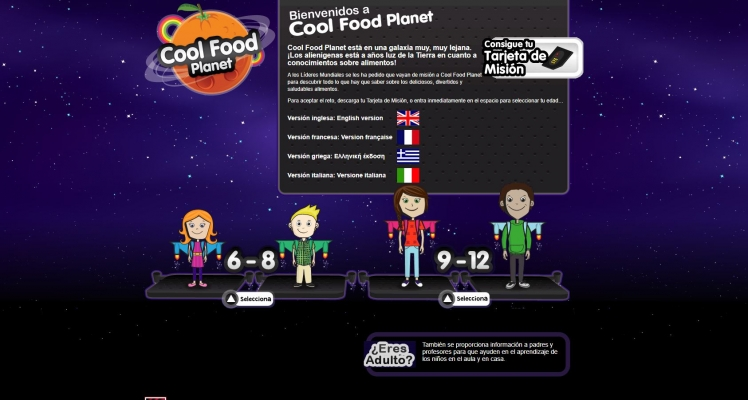Cool Food Planet