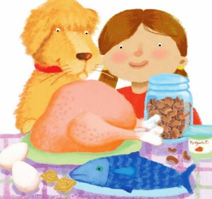 Libro alimentacion sana primaria