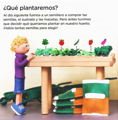 Libro educativo huertos primaria
