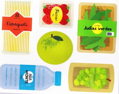 Libro y juegos alimentacion niños