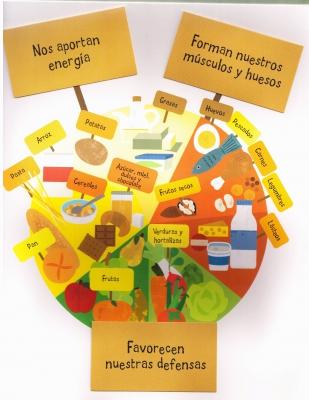 Libro alimentacion educación infantil