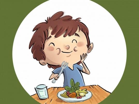 Alfredo y las verduras