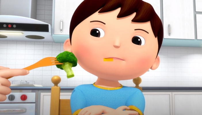 ¡No, no, no! Verduras