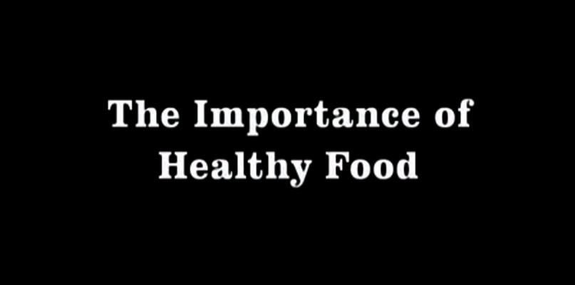 Vídeos alimentación sana para niños