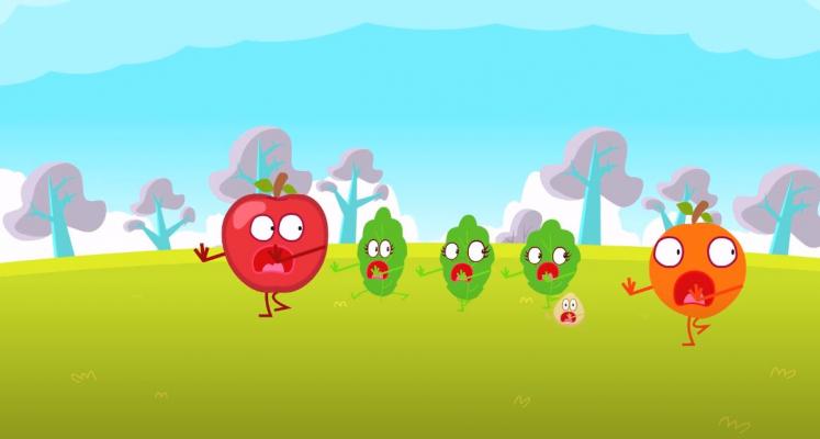 Cuentos Infantiles: Hay que comer hortalizas!
