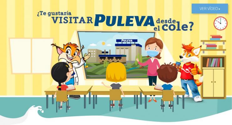 Visita virtual escolar a la Fábrica Puleva