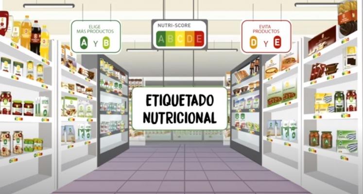 NUTRI-SCORE: Video sobre el etiquetado nutricional frontal