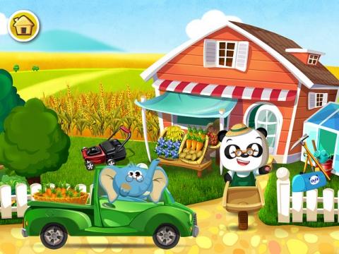 App infantil La huerta del doctor Panda
