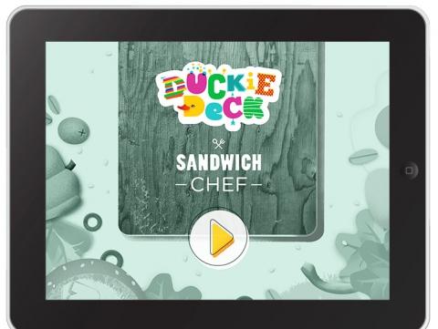 App infantil  Sandwich Chef