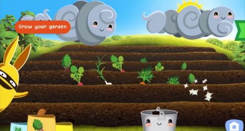 App infantil Gro Garden
