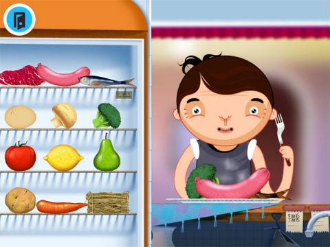 App infantil Toca Kitchen