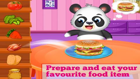 Alimentación saludable - Juego de comida