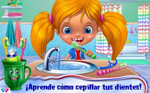 Dientes felices, niños sanos