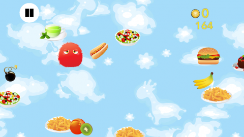 Healthy Food Monsters app