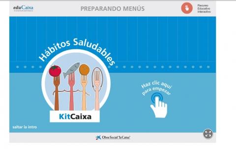 juegos online Hábitos saludables: preparando menús