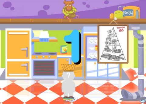 juegos online alimentación Consumópolis: Pirámide