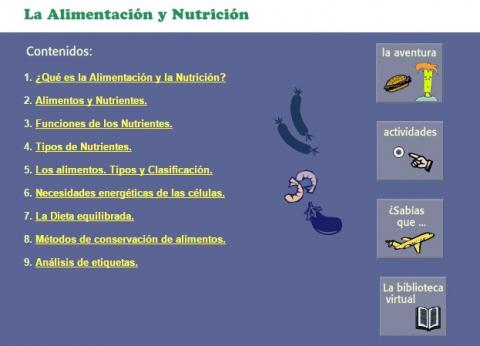 Elikadura eta nutrizioa