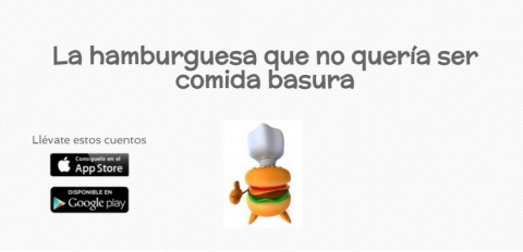 A hamburguesa que non quería ser comida lixo