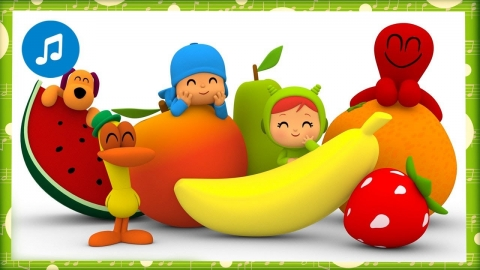 Pocoyó - Canción de los vegetales