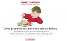 Cómo presentar los alimentos más atractivos para los niños