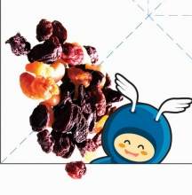 juegos alimentación Pajarita fruta