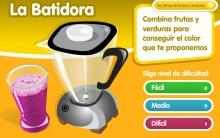 juegos online alimentación La batidora