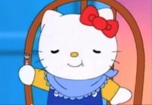 Vídeo Hello Kitty, malos modales